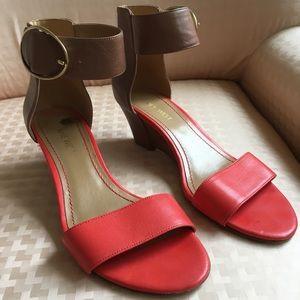 Nine West Color block Sandal Wedges